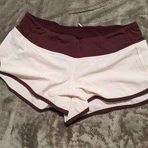 Lululemon speed up shorts Size 8